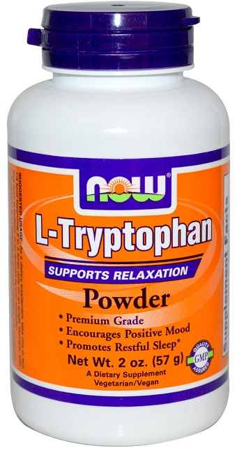 L-Tryptophan Powder 2 oz NOW (57 gr)