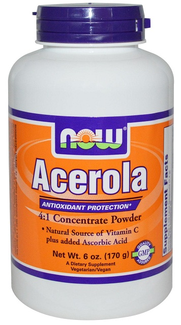 Acerola 6 oz NOW (170 гр)