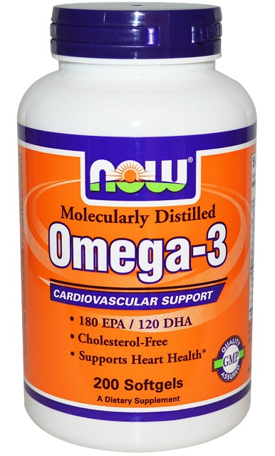 Omega-3 NOW (200 гелевых капсул)