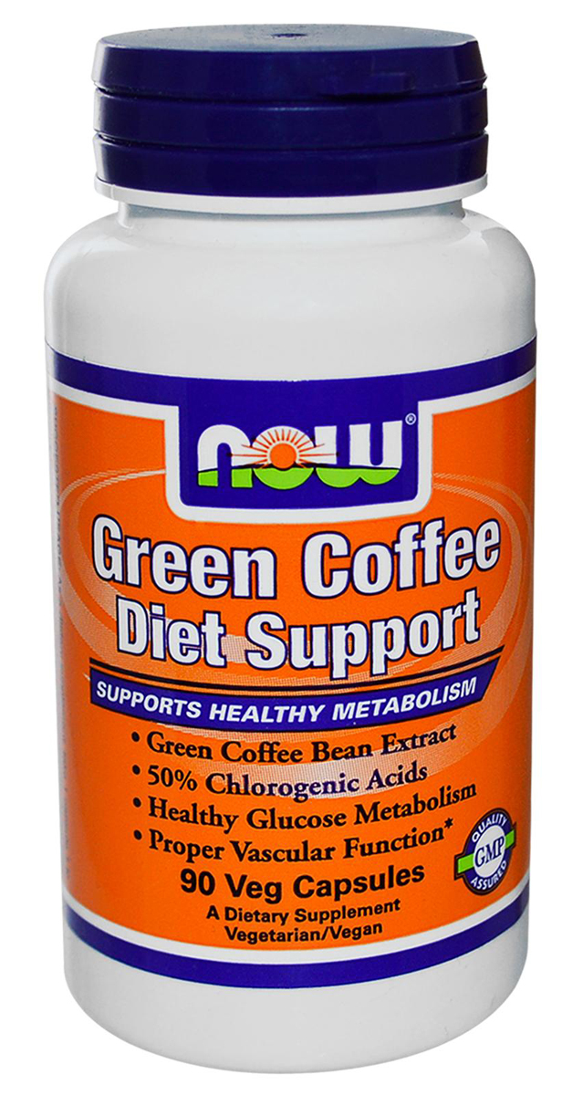 Green Coffee Diet Support NOW (90 кап)(годен до 01/2016)