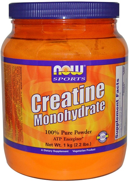 Creatine Monohydrate Powder NOW (1000 гр)