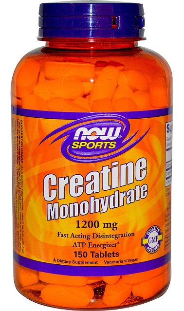 Creatine Monohydrate 1200 mg NOW (150 tab)