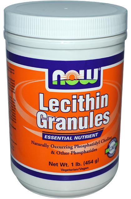 Lecithin Granules NOW (454 gr)