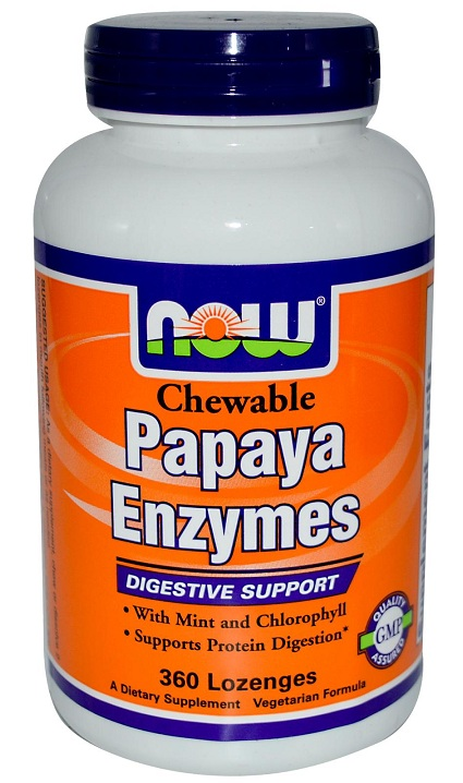 Papaya Enzyme NOW (360 Lozenges)