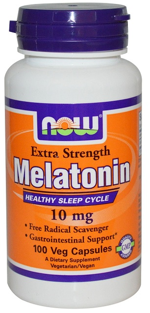 Melatonin 10 mg NOW (100 vcap)