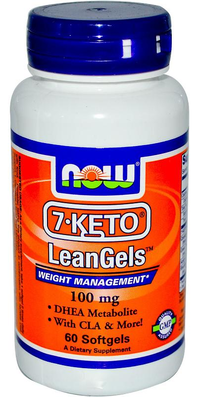 7-KETO LeanGels 100 mg NOW (60 Softgels)