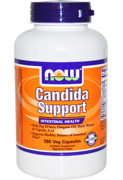 Candida Support NOW (180 veg cap)(EXP 01/2017)