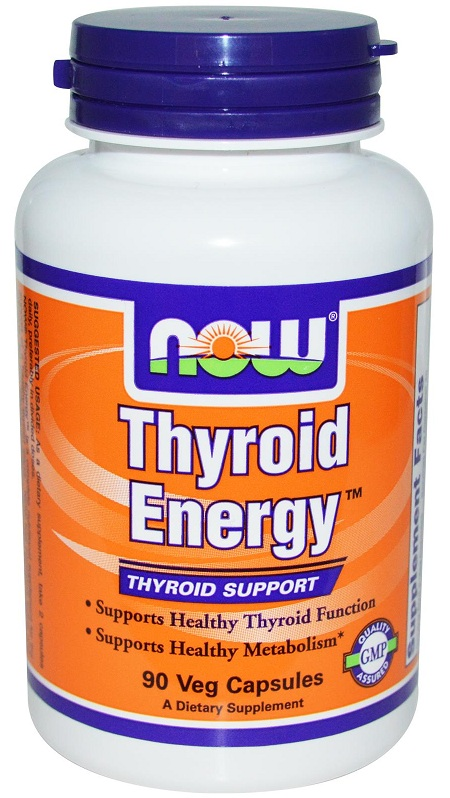 Thyroid Energy NOW (90 вегетарианских капсул)