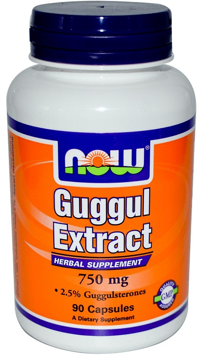 Guggul Extract 750 mg NOW (90 кап)