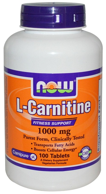 L-Carnitine 1000 mg NOW (100 таб)