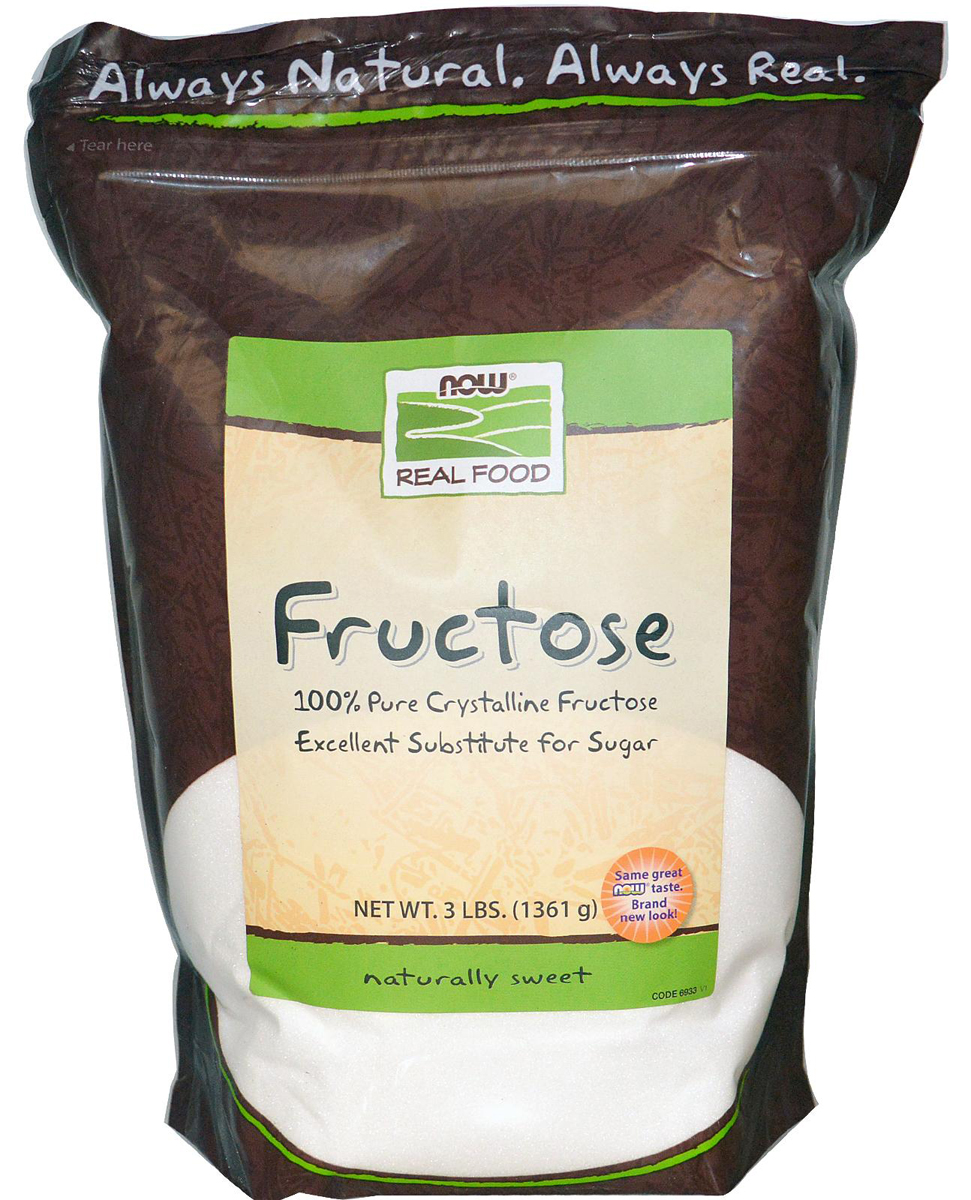 Fructose NOW (1361 gr)(EXP 03/2021)