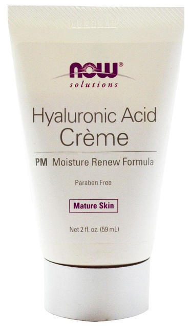 Hyaluronic Acid PM Creme 2 oz NOW (59 ml)