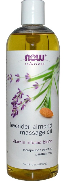 Lavender Almond Massage Oil NOW (473 мл)