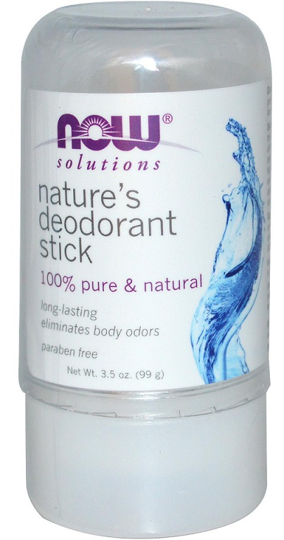Nature's Deodorant Stick (Stone) NOW (99 g)