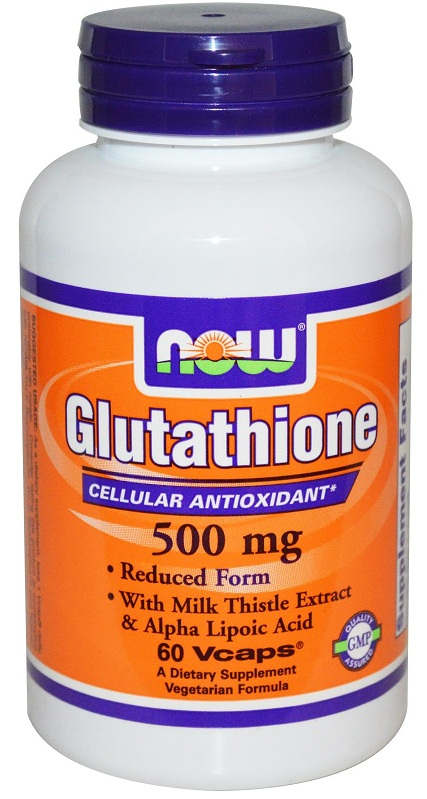 Glutathione 500 mg NOW (60 вег кап)