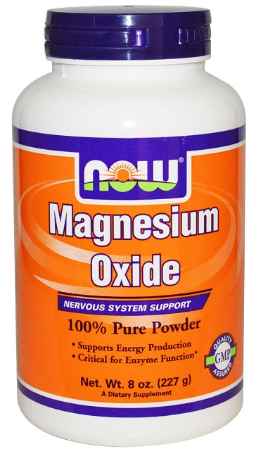 Magnesium Oxide 8 oz NOW (227 gr)