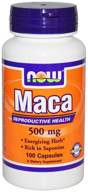 Maca 500 mg NOW (100 Capsules)