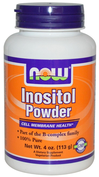 Inositol Powder Vegetarian NOW 4 oz (113 gr)