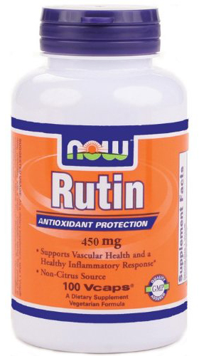 Rutin 450 mg NOW (100 veg. cap)