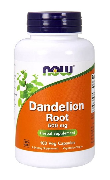 Dandelion Root 500 mg NOW (100 vcaps)