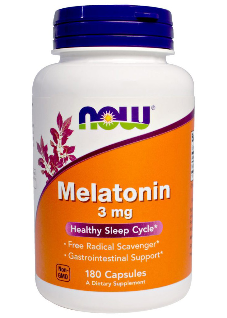 Melatonin 3 mg NOW (180 cap)