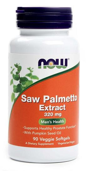 Saw Palmetto Extract 320 mg NOW (90 vcaps)