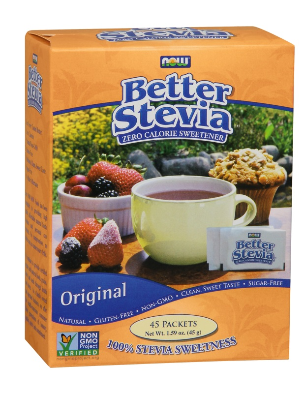 BetterStevia Packets NOW (45 Packets/Box)