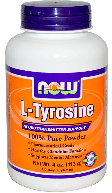 L-Tyrosine 4 oz NOW (113 гр)