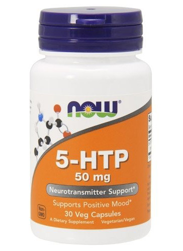 5-HTP 50 mg NOW (30 veg cap)