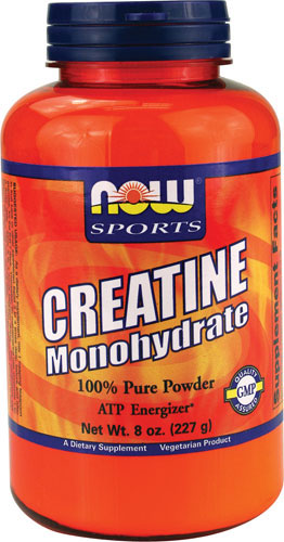 Creatine Monohydrate Powder NOW (227 гр)(годен до 10/2017)