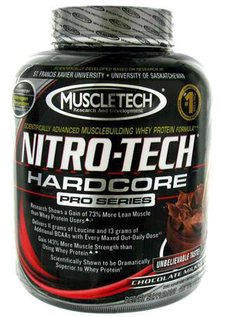 Nitro-Tech Hardcore Pro Series (1800 gr)