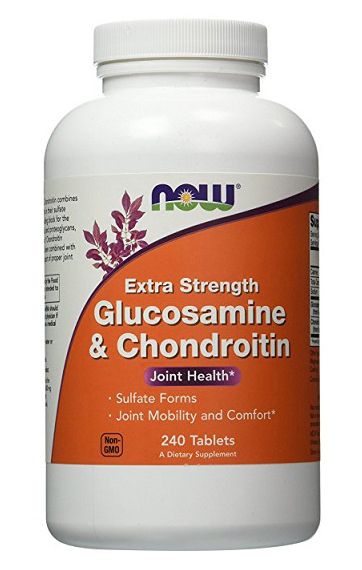 Glucosamine & Chondroitin Sulfate Extra Strength NOW (240 таб)