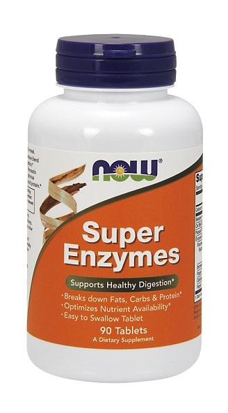 Super Enzymes NOW (90 таб)