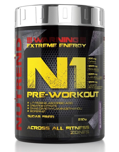 N1 Pre-Workout Nutrend (510 гр)