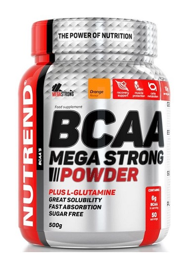 BCAA Mega Strong Powder Nutrend (500 гр)