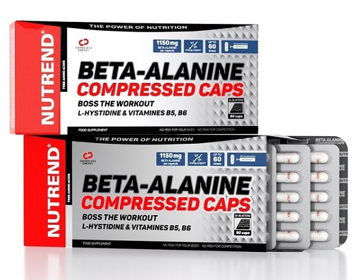 Beta-Alanine Compressed Caps Nutrend (90 caps)