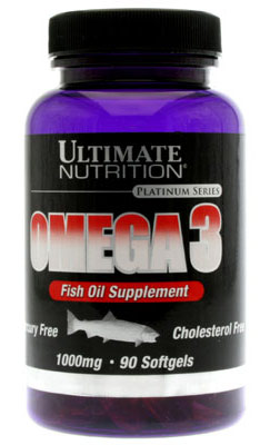 Omega 3 Ultimate Nutrition (90 гел. кап.)