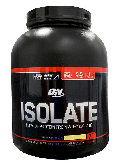 Isolate GF Optimum Nutrition (2270-2280 gr)