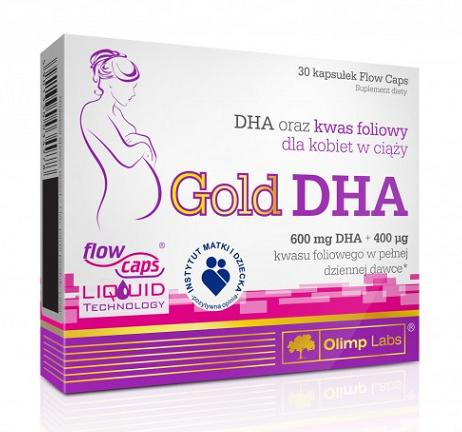 Gold DHA Olimp (30 кап)(годен до 02/2018)