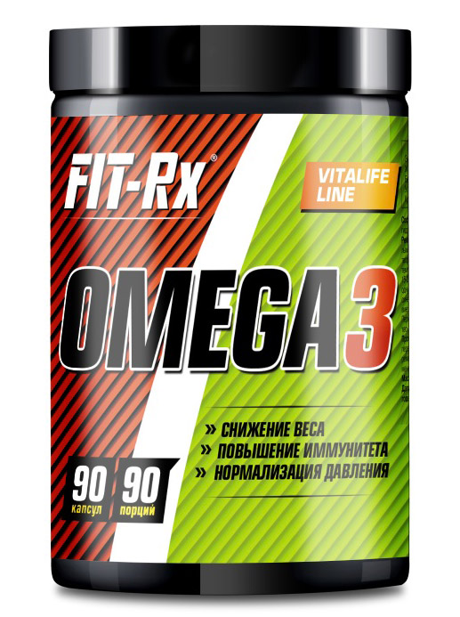 Omega 3 FIT-Rx (90 кап)