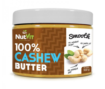 100% Cashew Butter Smooth OstroVit (500 гр)