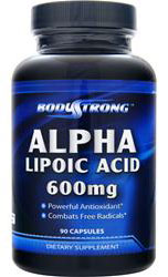 Alpha Lipoic Acid 600 mg BodyStrong (90 cap)