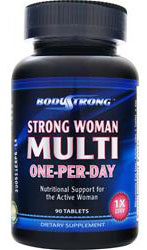 Strong Woman Multi - One-Per-Day BodyStrong (90 таб)