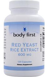 Red Yeast Rice 600 mg Body First (120 cap)