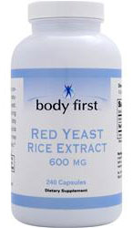 Red Yeast Rice 600 mg Body First (240 cap)