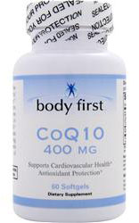 CoQ10 400 mg Body First (60 sgles)