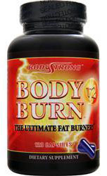 Body Burn V2 - The Ultimate Fat Burner BodyStrong (120 кап)