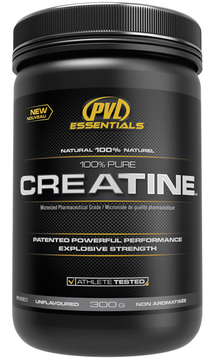 100% Pure Creatine PVL Essentials (300 gr)