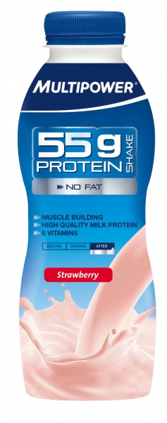 55g Protein Shake Multipower (500 ml)(EXP 24/06/2014)