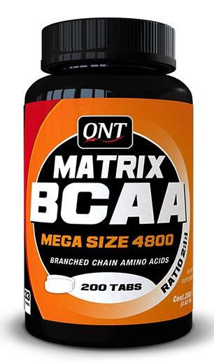 Matrix BCAA 4800 QNT (200 таб)